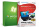 Microsoft Windows 7 Home Premium + Parallels Desktop Upgrade to Windows 7