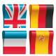 Набор интерактивных учебников по английскому, немецкому, французскому и испанскому языкам Доступ на 12 месяцев (Иноклуб)
