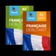 Комплект интерактивных учебников французского языка Debutant A0 и Debutant A1