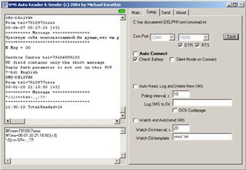 SMS Auto Reader and Sender 1.8 (Михаил Короткин)
