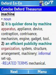 Английские словари Oxford для Windows Smartphone