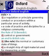 Программы софт для кпк коммуникаторов Английские словари Oxford для Symbian S60 3rd edition